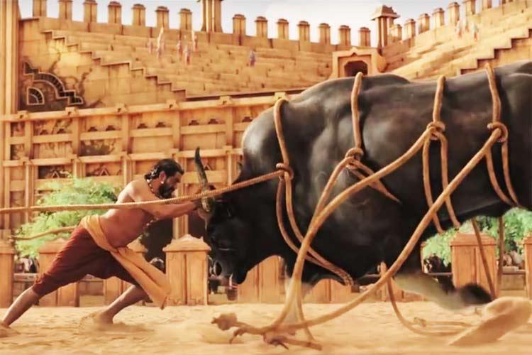 Image result for rana daggubati bullfight