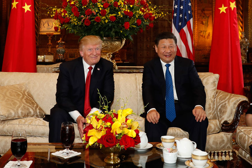 Image result for images China president with Trump