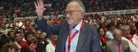 Muere el ex secretario general del PCE Santiago Carrillo a los 97 años