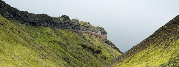 Una turista colabora en la búsqueda por su propia desaparición en Islandia