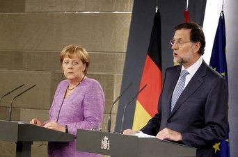 Merkel exige no abandonar las reformas ante la compra de deuda del BCE