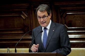 Artur Mas. Afp / Josep Lago. Vía La Vanguardia