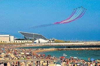 El festival aéreo de Barcelona prescindirá de las patrullas miliatres