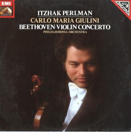 DE EMI ASD4059 カルロ・マリア・ジュリーニ ベートーヴェン・ヴァイオリン協奏曲