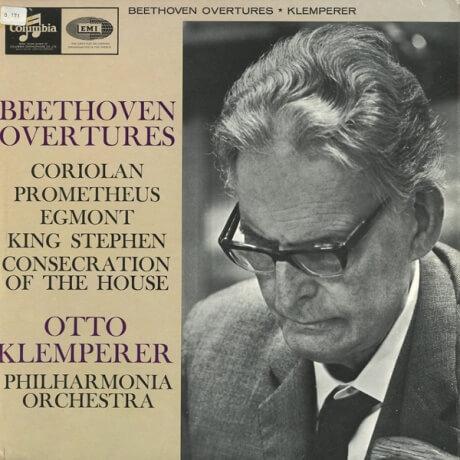 GB COL SAX2570 オットー・クレンペラー ベートーヴェン・序曲集