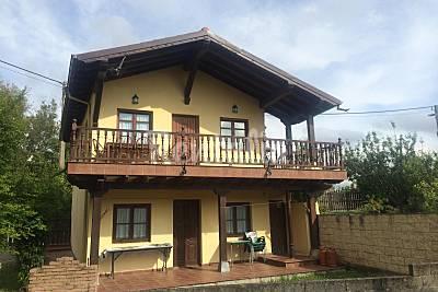 Casa de 2 habitaciones a 900 m de la playa Cantabria