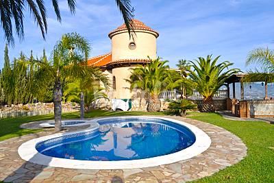 Casa rural, villa de lujo  en motril Granada