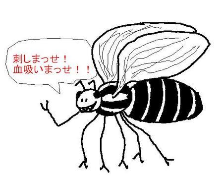 コウモリとフクロウ:ブヨ!!!!!!!!