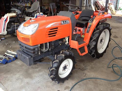 農業機械の株式會社ナカエ スタッフブログ:クボタトラクターKT20