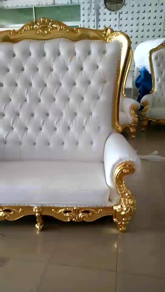 Hc515 Hotel Furniture Wooden Luxury Royal High Back