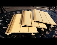 Ready Made Wall Panel Grooved Wpc Wall Cladding - Buy ...