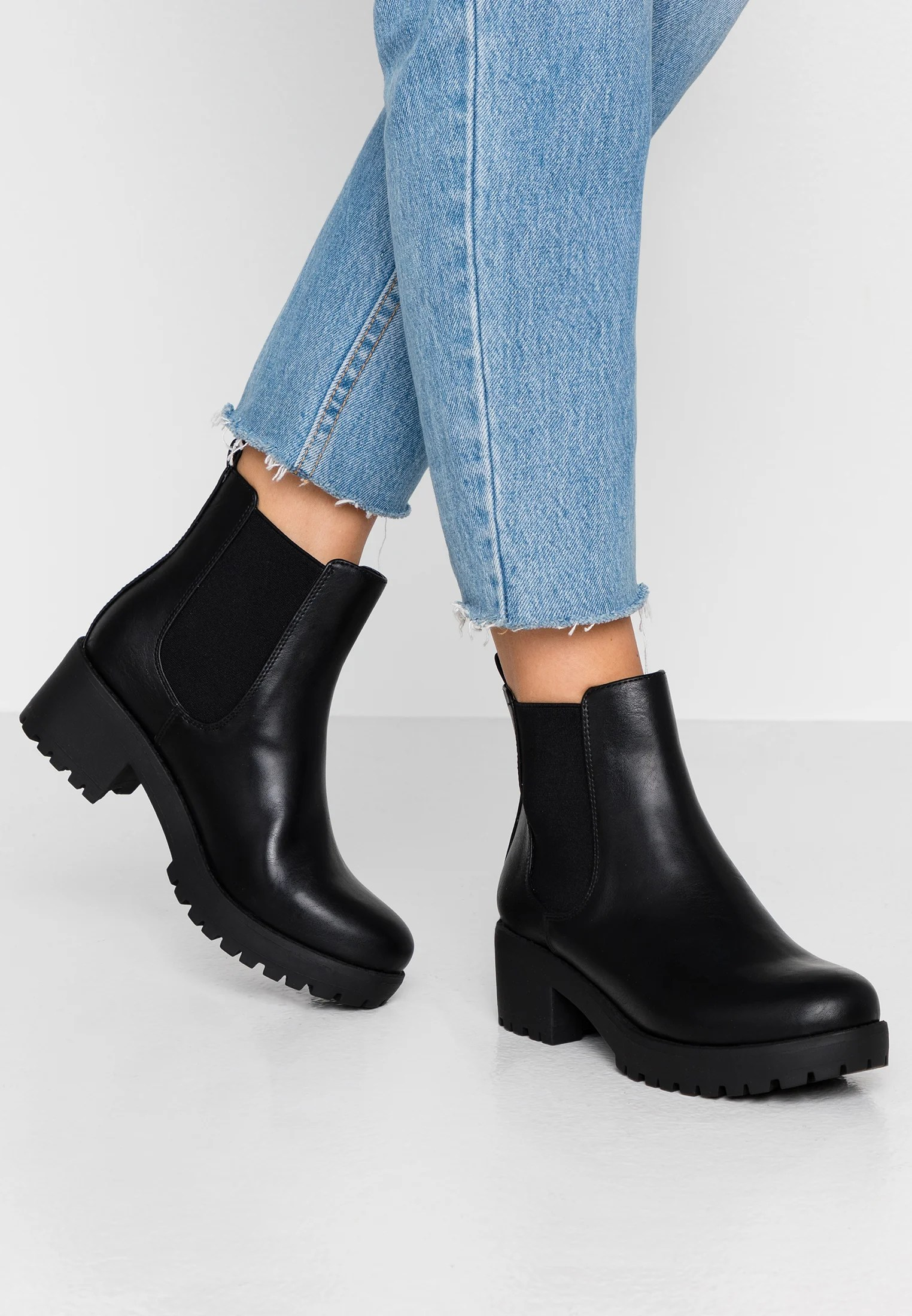 Rubi Shoes by Cotton On KENNEDY GUSSET - Boots à talons - black - ZALANDO.FR