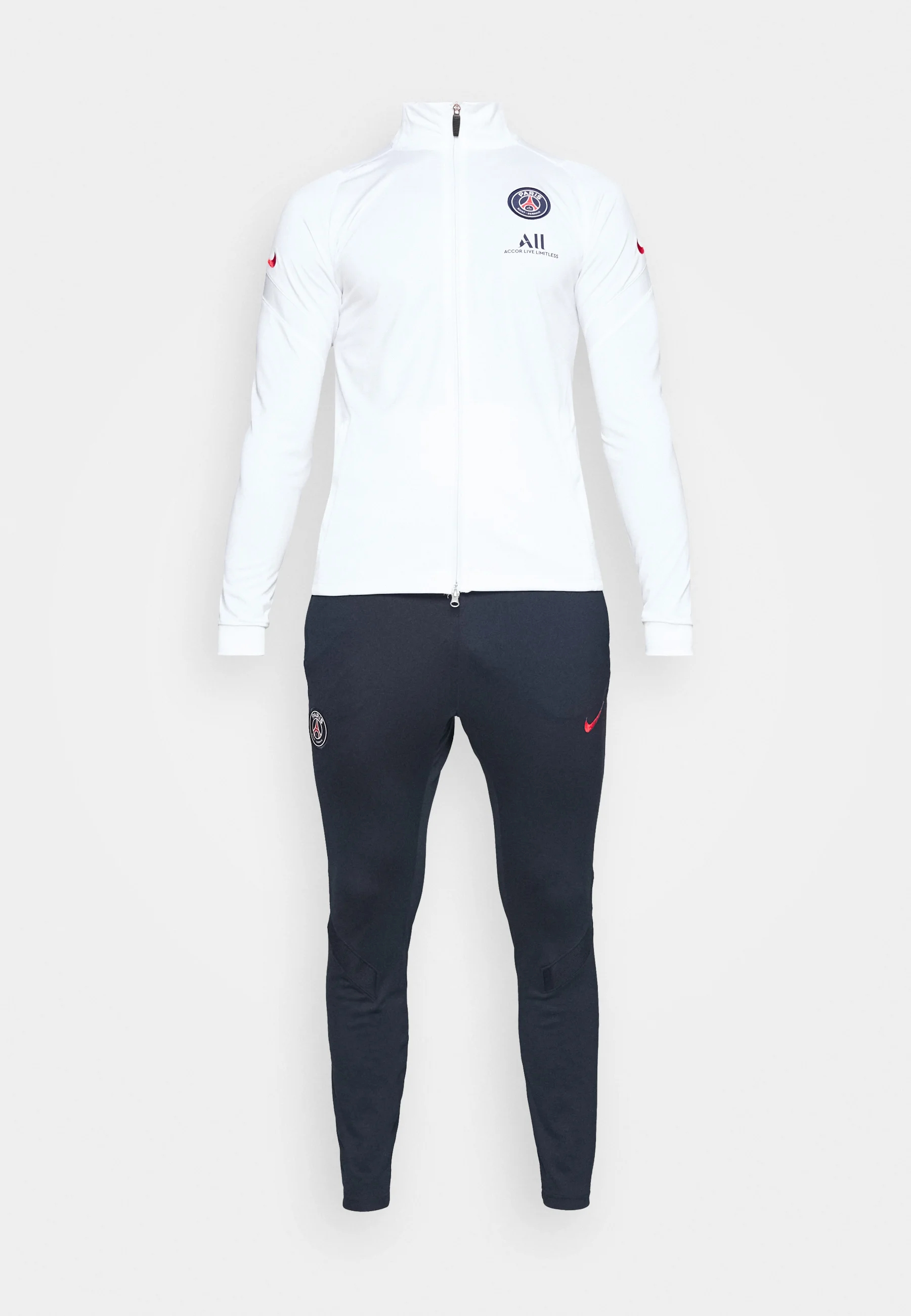 paris st germain suit vereinsmannschaften white university red