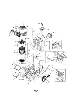 Generator/Alternator Head Mecc Alte Spa 120/240 Single
