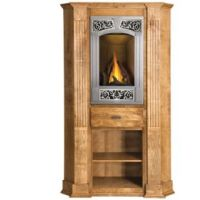 Gas Fireplaces Modern, Corner Fireplace