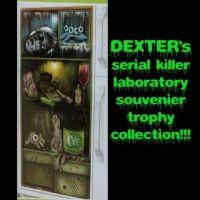 Gross Refrigerator Door Cover Creepy Mad Lab Fridge Decor ...