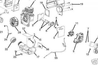 Gas Leaf Blower Vacuum, Gas, Free Engine Image For User