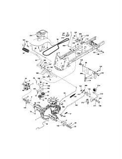 Craftsman GT 18 Tractor 122419X Transaxle w/Hi Lo