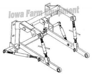 3 Point Hitch IH Farmall H M Tractors Parts Attachments
