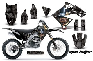 AMR RACING MOTORCYCLE GRAPHIC MX STICKER KIT YAMAHA WR