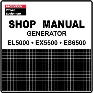 Honda EU1000I EU1000 Generator Service Repair Manual