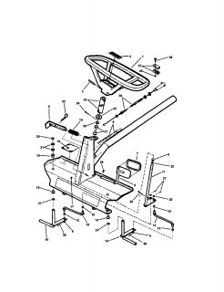 Snapper Comet Rear Engine Riding Mower Parts Manual 265X