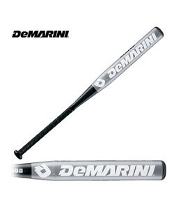 New 2013 Demarini White Steel Softball Bat 34/28 ASA DXWHI 13
