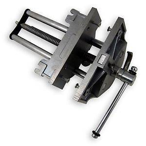 LARGE WOOD WORKING CLAMPING BENCH VISE WITH QUICK RELEASE FOR WOOD
