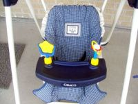 Graco OPEN TOP swing replacement COVER SEAT PAD CUSHION ...