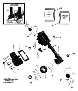 Troy Bilt 1986 Econo Horse Tiller Illustrated Parts List