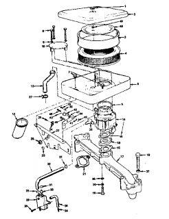 ONAN Onan gas engine Piston and rod Parts Model B48G GA020