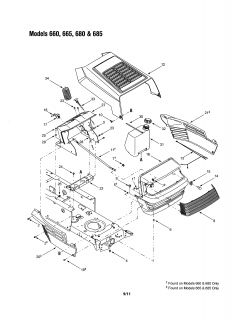 case 446 tractor wiring diagram jeep trailer harness craftsman schematic parts model 917258661 13ag688h722 mtd lawn 1