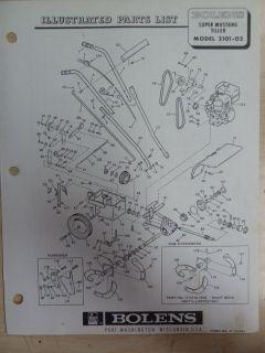 sears model 110 parts diagram coleman evcon eb17b wiring magna tiller 500238 belt ~ elsavadorla