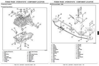 JOHN DEERE REPAIR MANUAL 240 245 260 265 285 & 320
