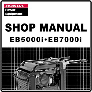 Honda EU1000I EU1000 Generator Service Repair Manual