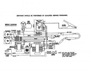 Chicago Electric Mig Welder Gas Nozzle Gun Parts