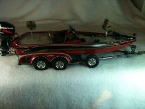 1999 Ranger 518 VS Comanche Bass Boat Hull for parts, no motor
