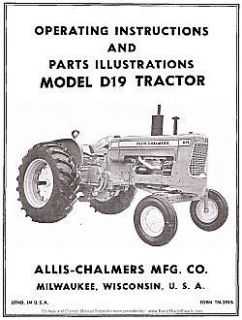 Allis Chalmers B 10 Garden Tractor with Attachments