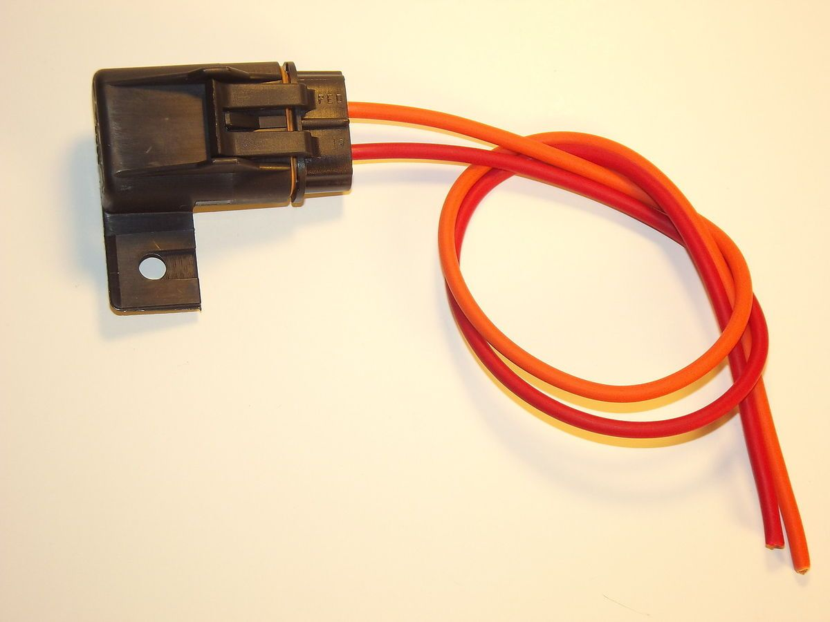 hight resolution of fuel pump fuse connector wiring harness 85 92 camaro firebird tpi tbi
