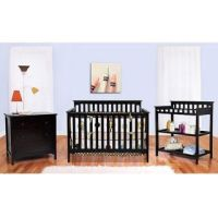 AFG Athena Leila Crib and Dresser/Changing Table and ...
