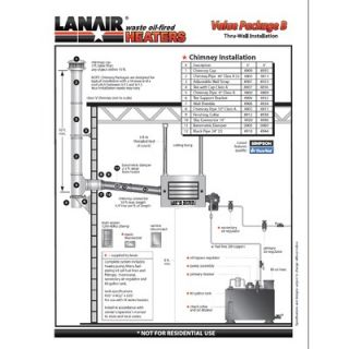 Waste oil Heater Parts LANAIR primary ignition control