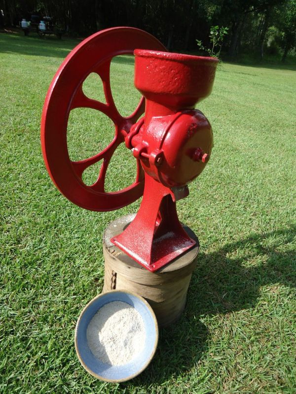 Vintage Antique Corn Grinder Coffee Grain Mill Cast Iron