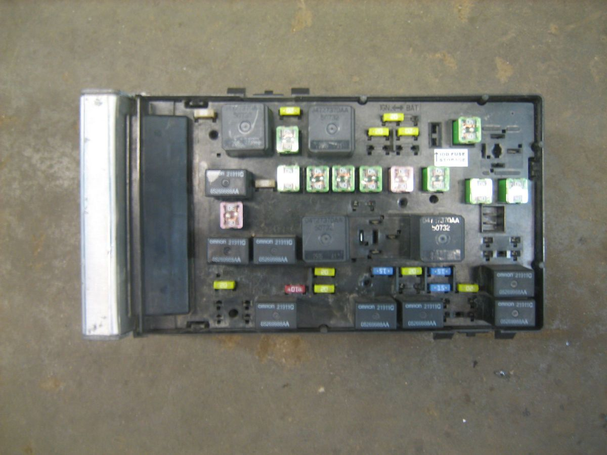 2006 chrysler town and country fuse box diagram package ac wiring ignition switch