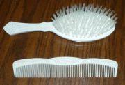 vintage avon slenderline hair brush