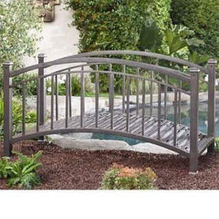 build decorative garden bridge
