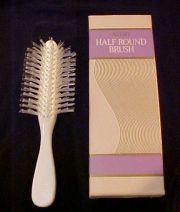 vintage avon white brush