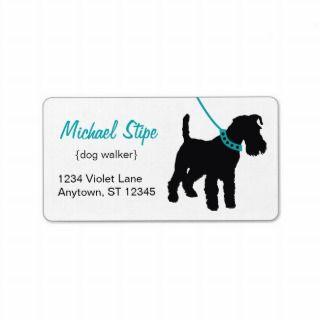 CUTE Dog Walker Custom promotion tear sheet flyer by
