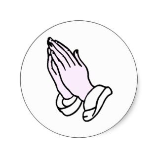 Aspergers Syndrome Praying Hands Cut Outs