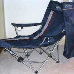 Northwest Territory Chairs White Shampoo Bowl And Chair Bigboy Powerbait Fishing Pole Folding Camping W Leg Rest Pillow