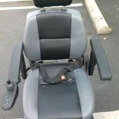 Liberty 312 Power Chair Nursing Rocking Pride Jet 3 Electric Wheelchair Mobility Blue Low Back